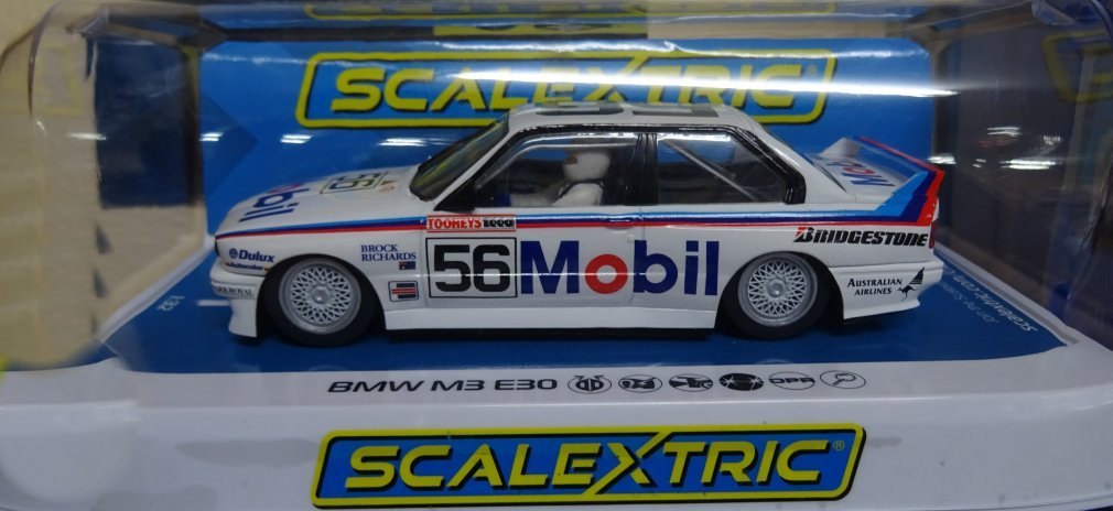 Scalextrix Slot Cars 1 32nd Scale Bmw E30 M3 1988 Bathurst 1000 Brock Richards 3929